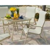 WT3618SA, W155BT, W1550HBBT - Ocean Breeze Sling Dining Chair Set