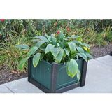 pb28regplntced - Regency 28 in. Recycled Plastic Planter