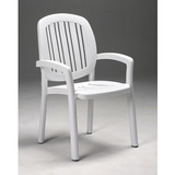 40.268.00.000 - Nardi Ponza Resin Stackable Patio Dining Chair