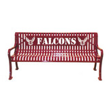 RFP4-LC - Signature Series Personalized Diamond Pattern Bench