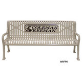 MRFP4-LC - Personalized Multi-color Diamond Pattern Bench