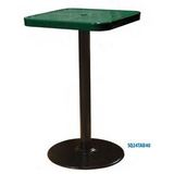 "24TAB - 24"" Square Pedestal Table"