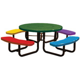 T46ROP-CHILD-PERF - 46 in. Round Perforated Childrens Table