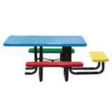 T46SQP-CHILD-PERF - 46 in. Square Perforated Childrens Table Available in Standard and ADA