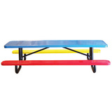 T6XPP-CHILD-PERF - Perforated Childrens Picnic Table Available in 6 and 8 Foot