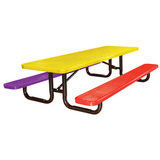 T6XPP-CHILD - Expanded Metal Childrens Table Available in 6 and 8 Foot