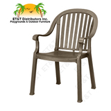 US650002 - Colombo Stacking Resin Arm Chair