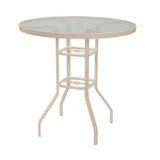 3018ba - 30, 36 and 42 inch Aluminum Bar Table - Acrylic
