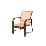 W0850 - Harbourage Aluminum Sling Dining Arm Chair