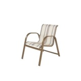 W7750BT - Windward Anna Maria Aluminum Sling Dining Chair