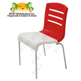 XB000019 - New! Grosfillex Domino Stacking Patio Dining Chair