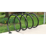 342-1605-HP - Coil Bike Rack Available for 6, 8 and 10 Bikes