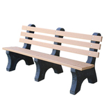 PB4CEDCPAE-JH - Comfort Park Avenue Recycled Plastic Bench