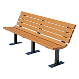 PB8GREFCONING-JH - Contour Recycled Plastic Park Bench