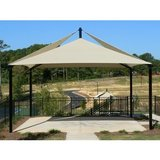 484 - Four Post Quad Sail Shade