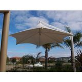 v44h - Skyspan Vista Range Hexagon Cantilever Retractable Static Umbrella