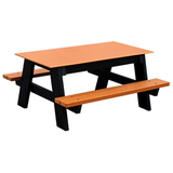 PB KIC4___ - Kids A Frame Recycled Plastic Picnic Table