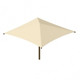 SU101010SG - Square Umbrella: Single Column