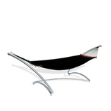 WSS - Stainless Steel Air Lounge - Standalone Steel Hammock - COMMERCIAL USE ONLY