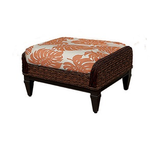 W6014 - Havana Resin Wicker Ottoman