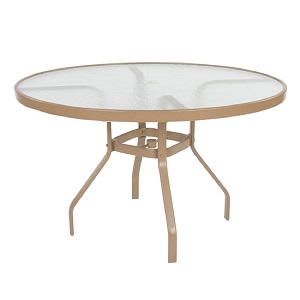 "KD4718GU - 47"" Round Dining Table"