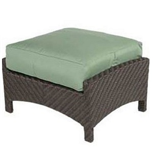 W8814 - Palmer Resin Wicker Ottoman