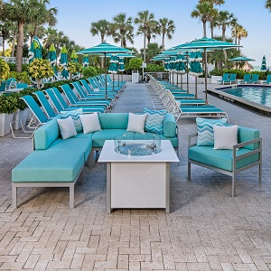 SOUTH BEACH COLLECTION - South Beach Deep Seating Collection