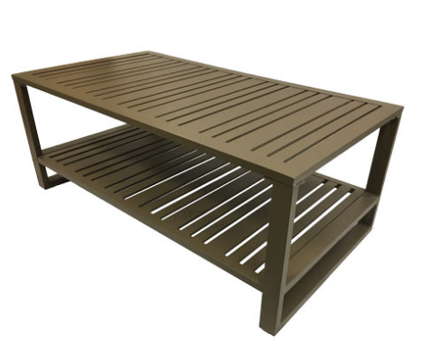 WT4726W90 - Lido Aluminum Coffee Table
