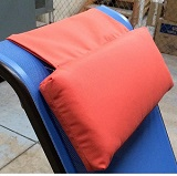 W2CP7 - Headrest Pillow For Sling Chaise Lounges