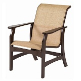W5850 - Covina Sling Dining Arm Chair
