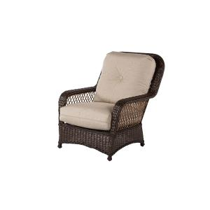 Hannah Deep Seating Resin Wicker Lounge Chair