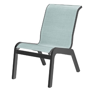 W7054 - Malibu Sling Armless Dining Chair