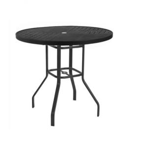 Windward Napa Punched Metal Balcony Table