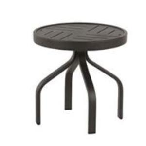 Windward Napa Punched Metal Side Table