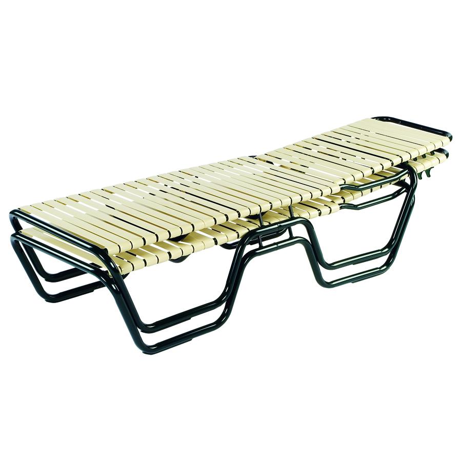 18 Quot Neptune Aluminum Strap Chaise Lounge
