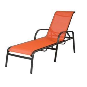 15 In Seat Ocean Breeze Aluminum Sling Chaise Lounge