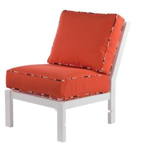 Sanibel Modular Deep Seating Armless Lounge Chair