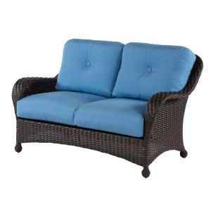 Carolina Wicker Loveseat