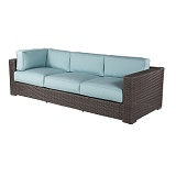 W4355C-WW - Georgia Wicker Corner Sofa